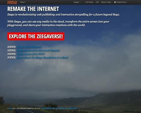 Tout ce que vous brûlez de savoir sur Zeega | Documentaires - Webdoc - Outils & création | Scoop.it