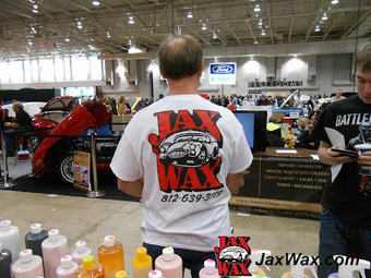 Car Wax, Car Care, Detailing Products Blog by Jax Wax Car Care Products: Jax Wax Helps Keeps 'Em Shiny at the Indianapolis World of Wheels | Get 25% More Money for Your Car with Professional Detailing Products and Just a Little TIme | Scoop.it