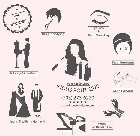 Indus Boutique-Hair & Beauty Salon | beauty | Scoop.it