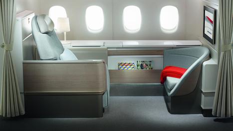 """Ce qu'a fait Air France pour avoir l'une des meilleures « première classe » du monde   Office de Tourisme """"Roissy, Clé de France""""   Scoop.it"""