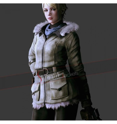 Sherry Birkin Resident Evil 6 Cosplay Fur Jacket | Never Seen Before - Exclusive Collection | Scoop.it