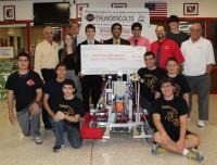 Half Hollow Hills Robotics Team Receives Donation - Patch.com | Robotics Investigations | Scoop.it