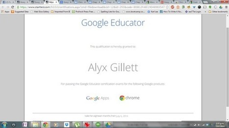 Why become a Google Educator? | Education, Technology, and Educational Technolgy | Scoop.it