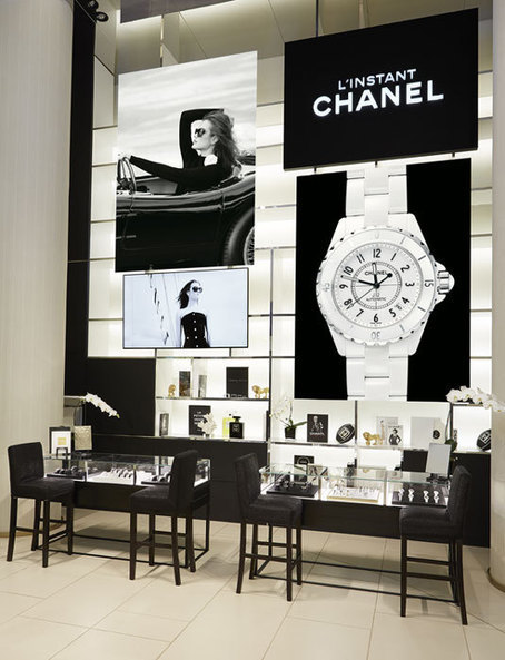 Chanel : un pop-up store horloger au Printemps du Louvre - Montres-de-luxe.com | Horlogerie et joaillerie | Scoop.it