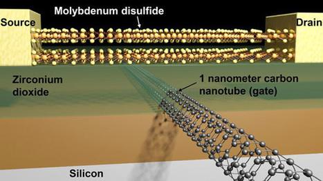 Un transistor de un nanomètre, c'est possible | Les chiffres et les Etres | Scoop.it