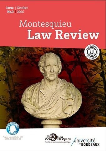The Law Review Downloads : the Montesquieu Law Review, at the University of Bordeaux | French law for non french-speaking patrons - Legal translation tools | Scoop.it