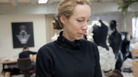 Iris van Herpen (video) | Digital Design and Manufacturing | Scoop.it