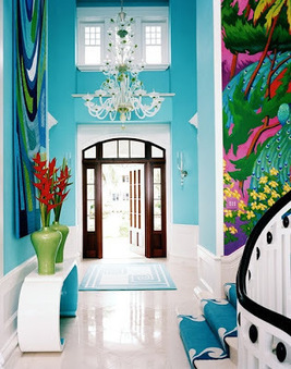 Initiales GG, une fille mais pas que...: The turquoise touch... | Déco Design | Scoop.it