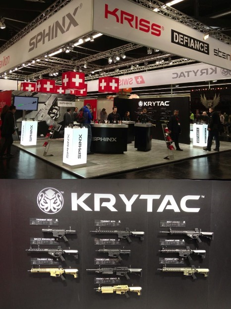 FIRST KRYTAC ANNOUNCEMENTS from IWA GERMANY! | Thumpy's 3D House of Airsoft™ @ Scoop.it | Scoop.it