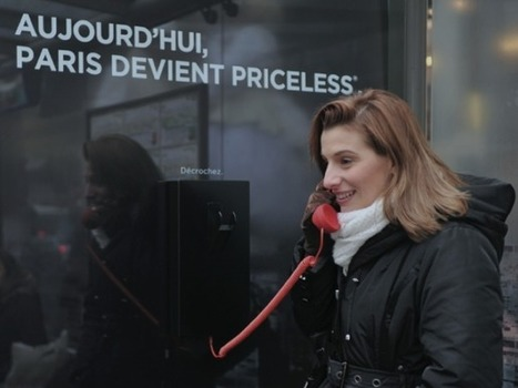 Quand Mastercard s'invite à Paris tout devient «Priceless» | Tout le marketing | Scoop.it
