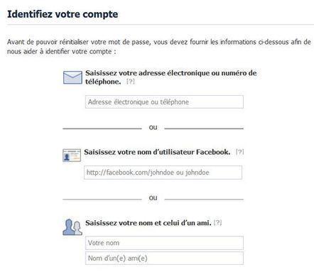 Comment savoir et récupérer son compte Facebook piraté ? | Etourisme & outils | Scoop.it