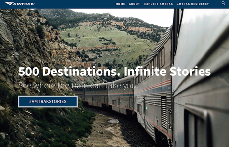 Amtrak Launches Its First New Brand Campaign in 15 Years | Tourism Social Media | Scoop.it