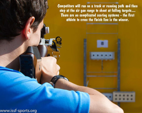 ISSF Introduces Target Sprint — A New Shooting/Running Sport ... | Target Shooting Tips | Scoop.it