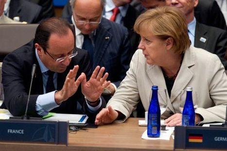 Hollande et Merkel tentent d'aplanir leurs divergences | ECONOMIE ET POLITIQUE | Scoop.it
