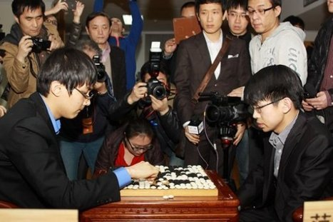 Fan Tingyu's record breaking 7th Ing Cup victory | Go, Baduk, Weiqi ~ Board Game | Scoop.it