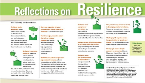Educational Leadership:  Reflections on Resilience | Educating in a digital world | Scoop.it