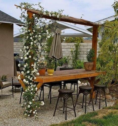 25 Ideas de diseños rústicos para decorar el patio | MSV | Scoop.it