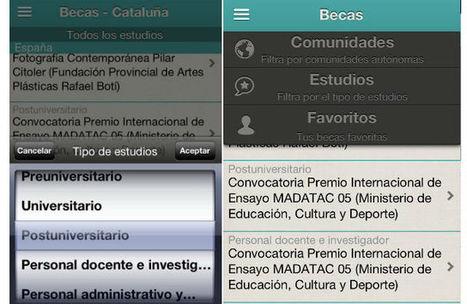 ¿Cómo y dónde buscar las mejores becas? Una aplicación para iPhone | Emplé@te 2.0 | Scoop.it