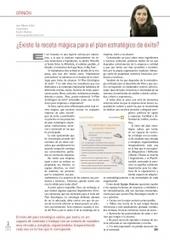 ¿Existe una receta mágica para un plan estratégico de éxito? | Sistemas de información en gestión de turismo y hotelería | Scoop.it
