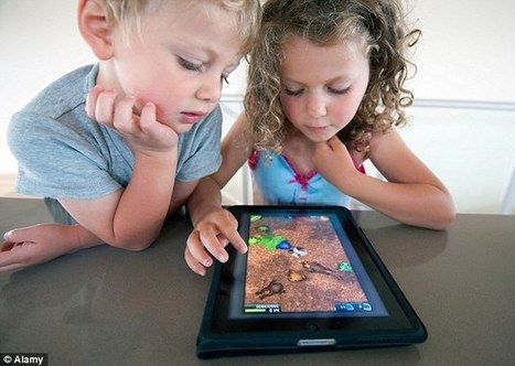 Children who use iPads could suffer from chronic neck and back pain | Kickin' Kickers | Scoop.it