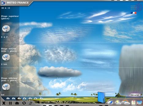 Apprenez à observer les #nuages via animation @meteofrance Ça se passe ici >   L'info du web et de la presse vue par les docs...   Scoop.it