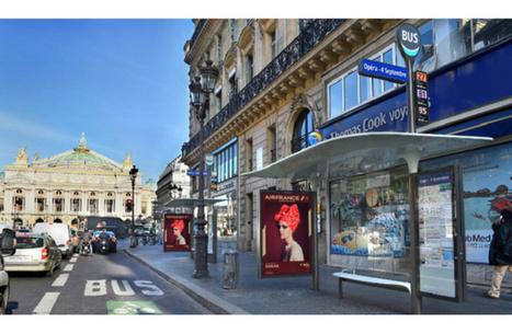 Paris digitalise ses abribus avec des applications dédiées aux touristes | morronijerome | Scoop.it
