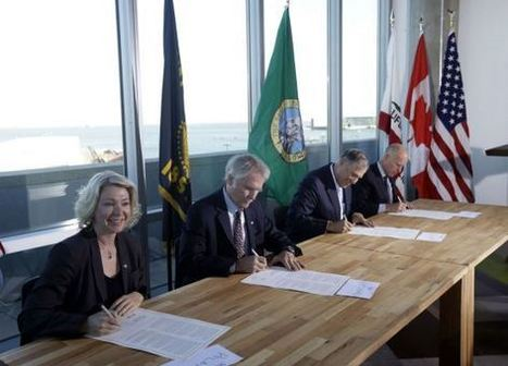 West Coast Leaders Sign Climate Change Pact, Bypassing D.C. | TIME.com | Pacific Coast Action Plan on Climate and Energy | Scoop.it
