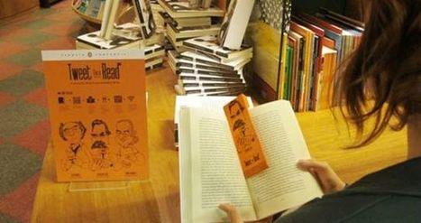 Marcador de livro envia tuítes para leitores retomarem a leitura | Evolução da Leitura Online | Scoop.it