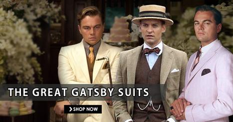 The Great Gatsby Costumes | Leonardo Dicaprio Suits | celebrities suits | Scoop.it