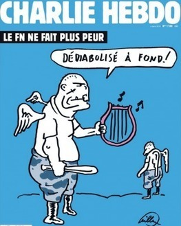 Charlie Hebdo: la dédiabolisation du FN en Une du dernier numéro | Think outside the Box | Scoop.it
