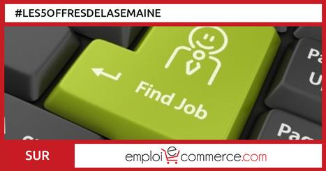 Les offres d'emploi de la semaine | Communauté du e-commerce | Scoop.it