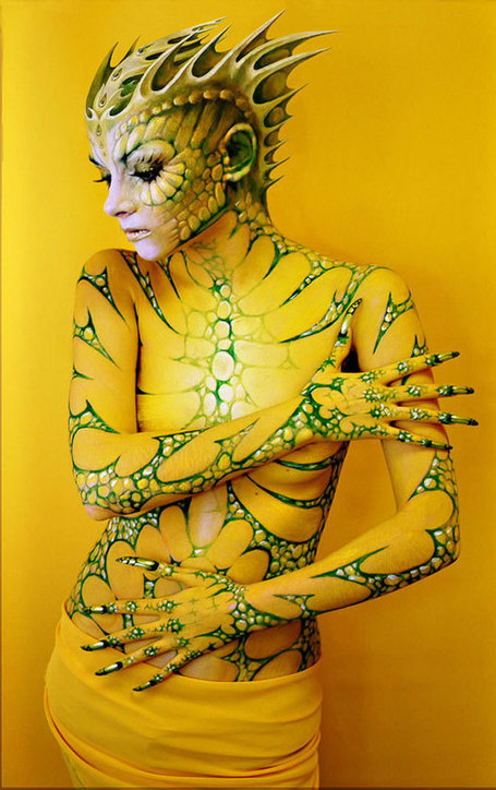 24 des plus inspirants corps peints du festival mondial de Body Painting | Instantanés | Scoop.it
