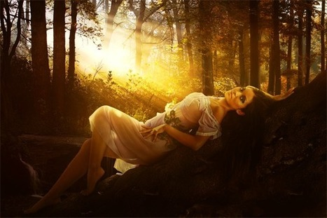 Create a Romantic and Warm Portrait Photo Manipulation in Photoshop | The Official Photoshop Roadmap Journal | Scoop.it