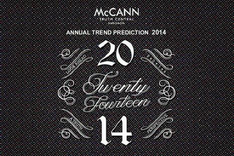 ผ่า 10 เทรนด์ผู้บริโภคมาแรงส์ !! ปี 2014 โดย McCANN | Marketing | Scoop.it
