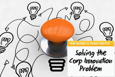 Six Levers for Solving the Corporate Innovation Problem™ – Part 1 | The Jazz of Innovation | Scoop.it