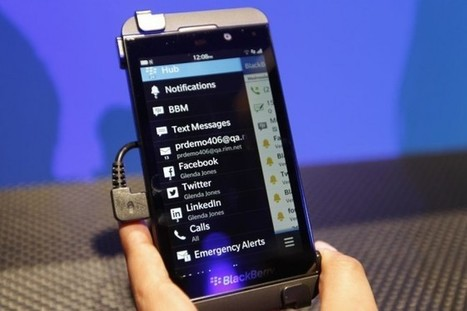 BlackBerry's New Z10 and Q10 Phones: The Specs   Gadget Lab   Wired.com   Nerd Vittles Daily Dump   Scoop.it