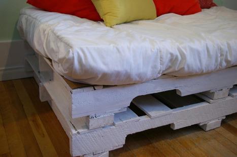 Palette et vieille échelle | Palettes | Scoop.it