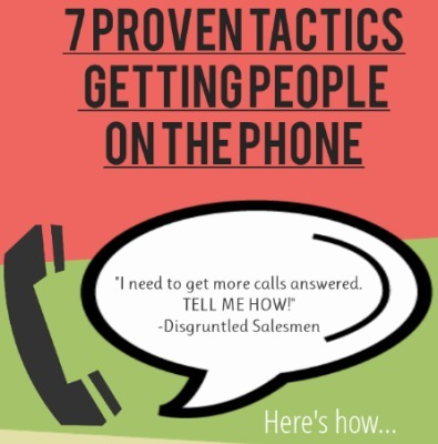 7 Proven Tactics To Get People On The Phone | Generating leads with video | Scoop.it