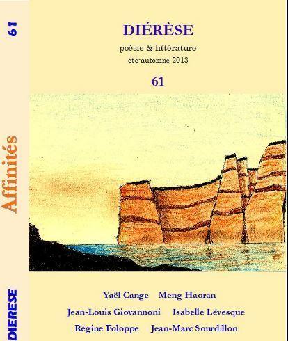 [vient de paraître] Diérèse 61     poésie  & littérature été-automne 2013   Terres de Femmes   Scoop.it