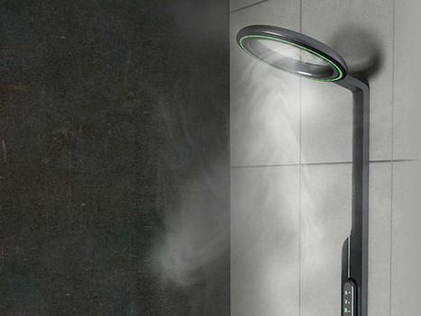 La douche du futur diffusera un flux de vapeur | Innovations urbaines | Scoop.it