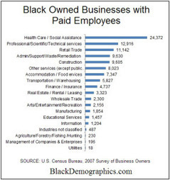 Report Shows African American Businesses Only Earn 0.4 Percent of All American Business Sales | Diversity | Scoop.it