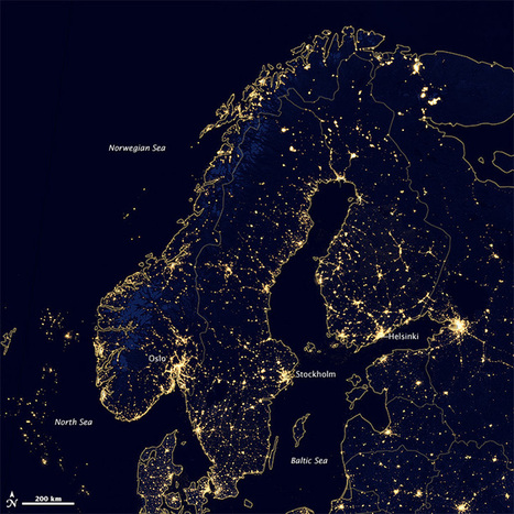 Scandinavian Energy Usage | Geography Education | Scoop.it