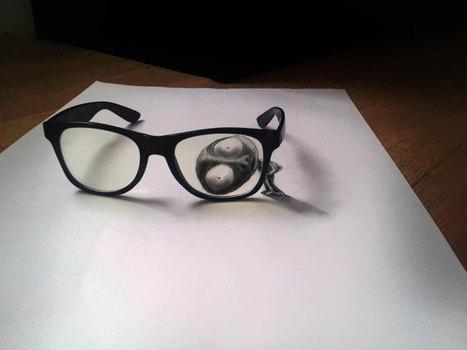 3D Pencil Drawings by Ramon Bruin | My Journey Part 1 | Scoop.it