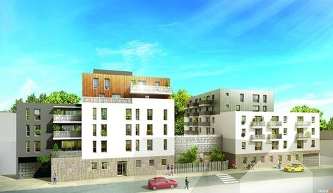 Actu bâtiment / Nantes (44) : Quille construit le pôle intergénérationnel de la Croix-Rouge | Habitat intergénérationnel | Scoop.it