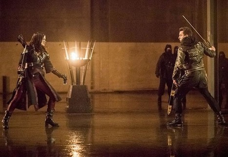 Arrow Season 4: Katrina Law on Nyssa, John Barrowman | ARROWTV | Scoop.it