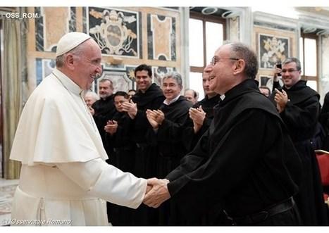 Pápež František prijal kapitulu augustiniánov: Buďte tvorcami spoločenstva | Správy Výveska | Scoop.it
