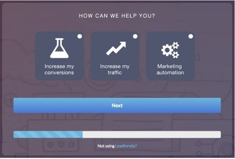 Lead generation forms: Five uncommon strategies to increase conversion rates | Online Marketing Resources | Scoop.it