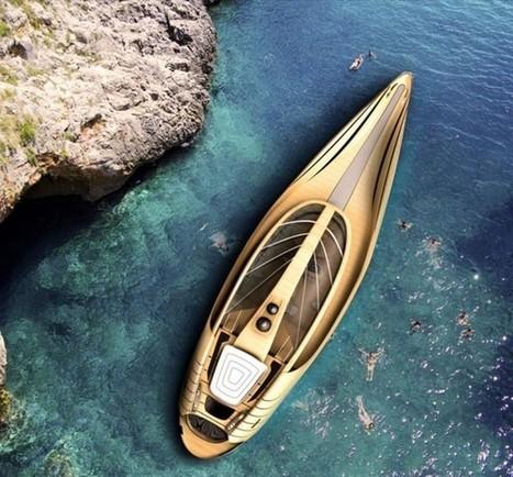 Futuristic Cronos Yacht concept | ARCHIresource | Scoop.it