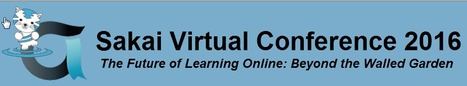 Save the Date: Nov 2, 2016 for Sakai Virtual Conference  | Education and Tech Tools | Scoop.it