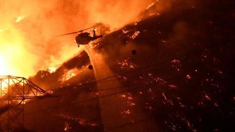 VIDEO. Etats-Unis : d'impressionnants incendies ravagent la Californie | The Blog's Revue by OlivierSC | Scoop.it